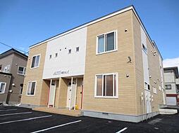 北海道亀田郡七飯町字中野の賃貸アパートの外観