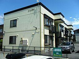 北海道函館市中道1丁目の賃貸アパートの外観