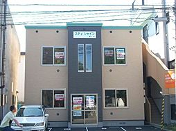 北海道函館市湯川町3丁目の賃貸アパートの外観
