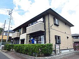 サンガーデンA・B棟[2階]の外観