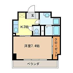 プライム北丸之内[3階]の間取り