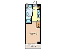 エイムオーエス島崎町マンション[2階]の間取り
