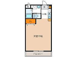 ふじ第3マンション[405号室]の間取り