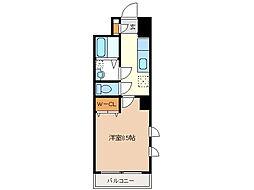 ミ カーサ・キタ[6階]の間取り