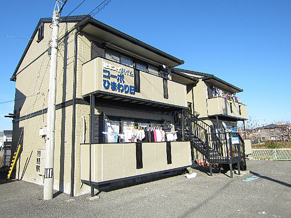 徳島県鳴門市撫養町黒崎字八幡の賃貸アパートの外観