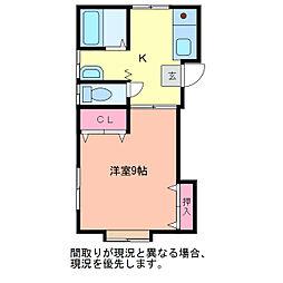 シンラ[2階]の間取り