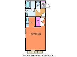 センチュリー寺地[2階]の間取り