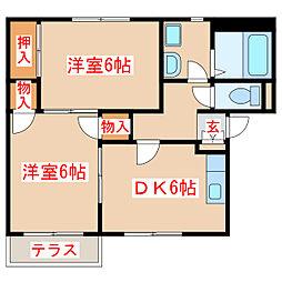 坂之上駅 4.5万円