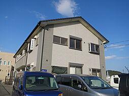 鹿児島県鹿児島市中山町の賃貸アパートの外観