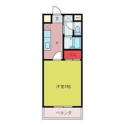 パークプラザI[4階]の間取り
