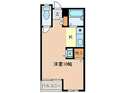 シングルハウス・ノア[2階]の間取り