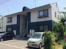新潟県新潟市中央区長潟2丁目の賃貸アパートの外観