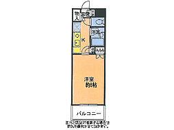 メゾン・ド・ラルジュ[3階]の間取り