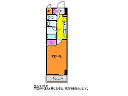パークソレイユ新潟駅前[2階]の間取り