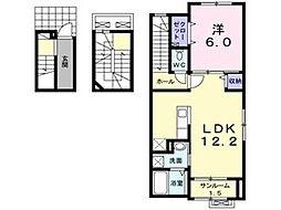マーベラスハウス[3階]の間取り