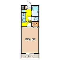 ABBYROAD2000[2階]の間取り
