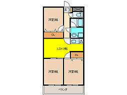 Tステージミカーレ[2階]の間取り