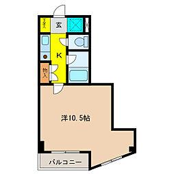 メゾンユタカ[2階]の間取り