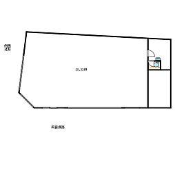 栗田ビル[1階]の間取り