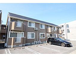 徳島県徳島市川内町北原の賃貸アパートの外観