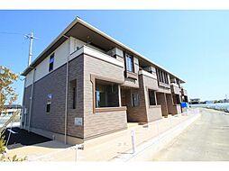 徳島県徳島市応神町東貞方字八幡前の賃貸アパートの外観