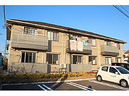 愛知県岡崎市橋目町字御小屋西丁目の賃貸アパートの外観