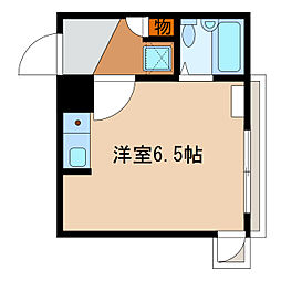 静岡県浜松市中区元浜町の賃貸マンションの間取り