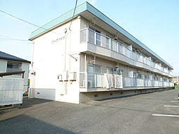 静岡県浜松市中区上島1丁目の賃貸アパートの外観