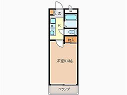 サニーハイツMA[2階]の間取り