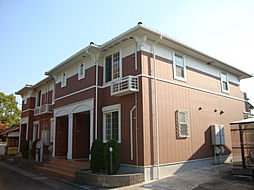 愛知県名古屋市緑区桶狭間北3丁目の賃貸アパートの外観