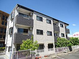 愛知県豊明市栄町南舘の賃貸マンションの外観
