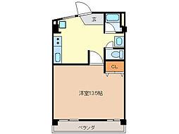 ヤカタハイツ[4階]の間取り