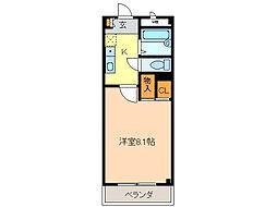 ジョイ・パ−ク[2階]の間取り