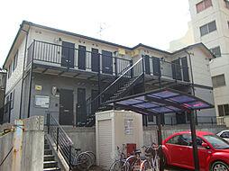 愛知県名古屋市天白区菅田1丁目の賃貸アパートの外観