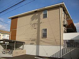 愛知県名古屋市緑区砂田2丁目の賃貸アパートの外観