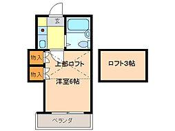 エスポ・アール鳴海[1階]の間取り