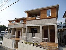 愛知県名古屋市緑区有松町大字桶狭間字生山の賃貸アパートの外観