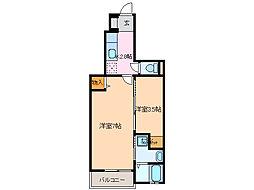 サンリットガーデン[1階]の間取り