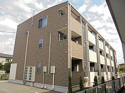 愛知県豊明市阿野町稲葉の賃貸アパートの外観