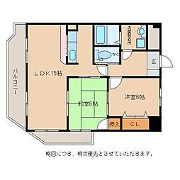 翔21[1階]の間取り