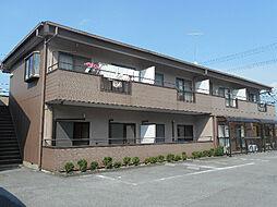 滋賀県愛知郡愛荘町豊満の賃貸アパートの外観