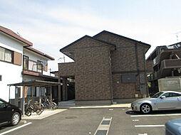 滋賀県東近江市東沖野2丁目の賃貸アパートの外観