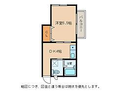 キムラハウス[2階]の間取り