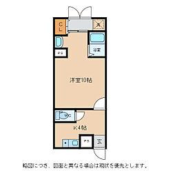 HEART桜館[1階]の間取り