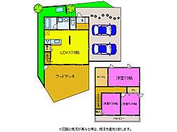 [一戸建] 静岡県浜松市西区入野町 の賃貸【静岡県 / 浜松市西区】の間取り