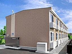 レオパレスイルミナB[1階]の外観