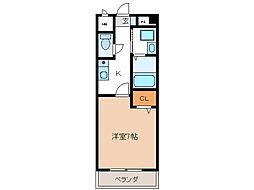プレジデント21[1階]の間取り