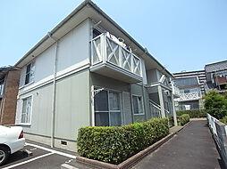 岐阜県岐阜市松原町の賃貸アパートの外観
