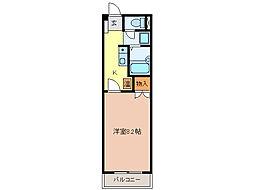 シャトーIIASANO[1階]の間取り