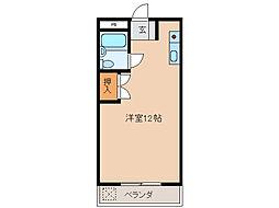 メゾン河合[4階]の間取り